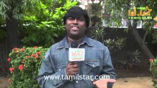 George Vijay at Naangellam Edakoodam Team Interview