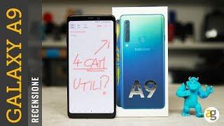 Recensione GALAXY A9 2018 Samsung. QUATTRO camere. Tutte utili?