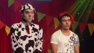 Cười Xuyên Việt - Chung kết 2 (1/5/2015): Nguyễn Huỳnh Nhu & Lê Dương Bảo Lâm, cuoi xuyen viet, cười xuyên việt, cười xuyên việt tập 8