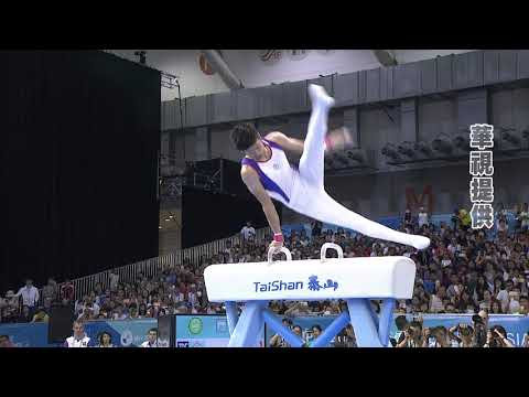 李智凱鞍馬寫歷史 台灣史上體操第二金到手