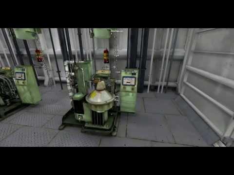 Engine Room Simulator 3D separator - Kongsberg Digital
