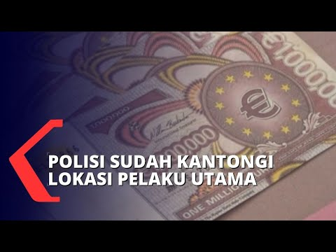 Polisi Ungkap Sindikat Uang Asing Palsu, Total Hingga 4,5 Triliun Rupiah!