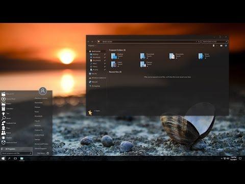 Windows 10 Theme - Black Edition 2018