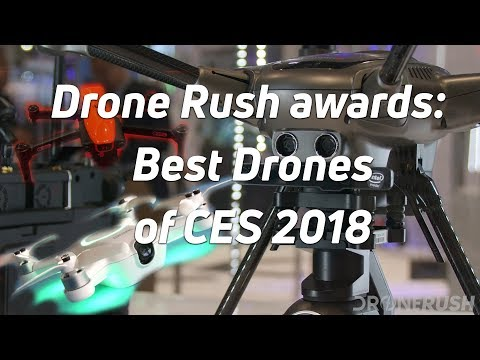 Best drones at CES 2018 (видео)