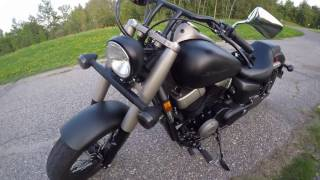 6. Honda Shadow Phantom Review