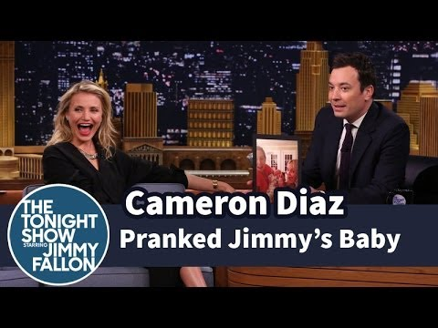pranked - After talking about the birth of their mutual friend Drew Barrymore's daughter, Jimmy questions Cameron about a prank she played on his daughter. Subscribe NOW to The Tonight Show Starring...