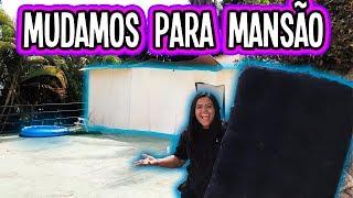MUDAMOS PRA MANSÃO DE PAPELAO (BOX FORT)