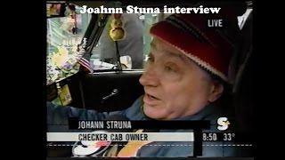 Vintage Checker Cab Driver Interview