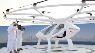 Driverless hover-taxi makes first flight in Dubai