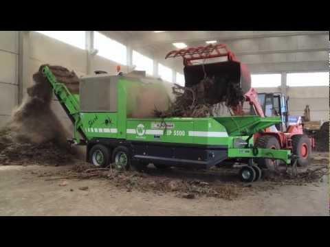 Trituratore EP5500 SHARK triturazione ramaglie e raffinazione compost.mov