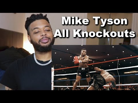Mike Tyson - All Knockouts of the Legend | Reaction