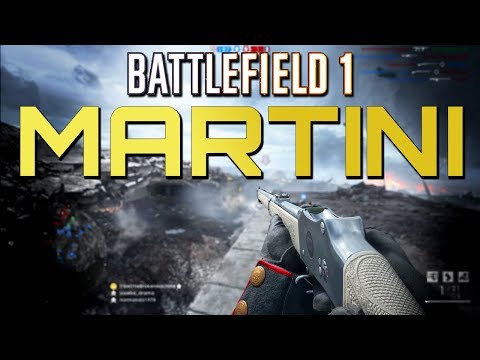 Battlefield 1: Martini-Henry Sniping Moments (PS4 PRO Multiplayer Gameplay)