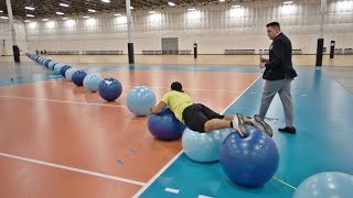 Video World Record Exercise Ball Surfing | Overtime 6 | Dude Perfect MP3, 3GP, MP4, WEBM, AVI, FLV Juli 2019