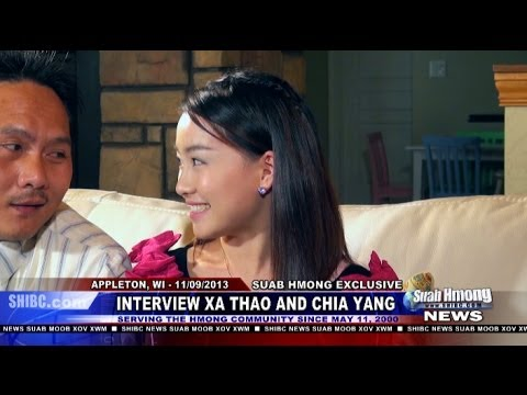 Exclusive Interview - Part 2 of Richard Wanglue Vang, News Anchor for Suab Hmong News, exclusive interviewed Xa Thao (Xab Thoj) and Chia Yang (Txiab Yaj) at Appleton, Wisconsin on...