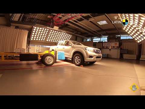 Nissan Frontier crash test Latin NCAP 2019
