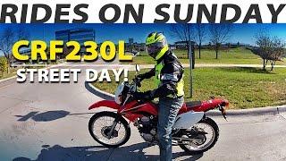7. �� Dual Sport 2008 Honda CRF230L | Taking it to the street