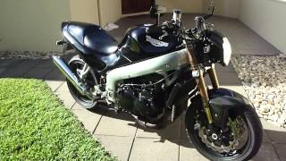 7. SOLD 99 Triumph 955i Sprint ST Fuel Injected Naked Streetfighter for sale
