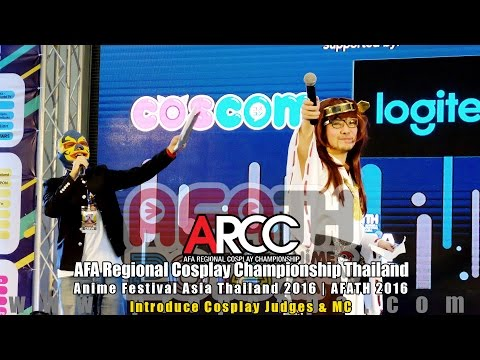 AFATH 2016 | Day 3: ARCC – Introduce Cosplay Judge & MC