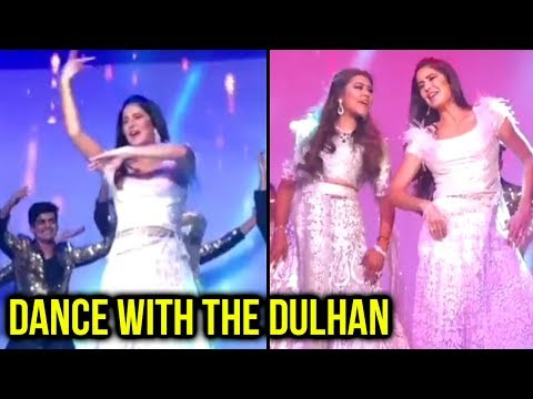Katrina Kaif DANCES To Teri Ore With The Bride At
