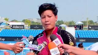 TENNIS Fed Cup Single women (1) Luksika KUMKHUM  (THA)  VS Ankita RAINA  (IND)  03 02 59