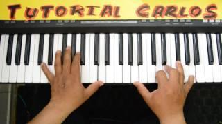 Como Nunca Antes Nathanael Paredes Piano Tutorial Carlos