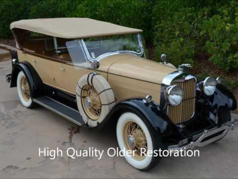 1928 Lincoln, Locke Touring, 3 Owner CA Car, Older Resto, For Sale!