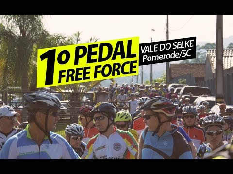 1º PEDAL DA FREE FORCE - VALE DO SELKE, POMERODE/SC