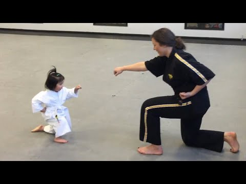 Three Year Old Taekwondo Master