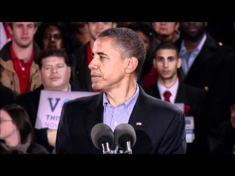 President Obama: &#8220;I need you to keep on fighting&#8221; thumbnail