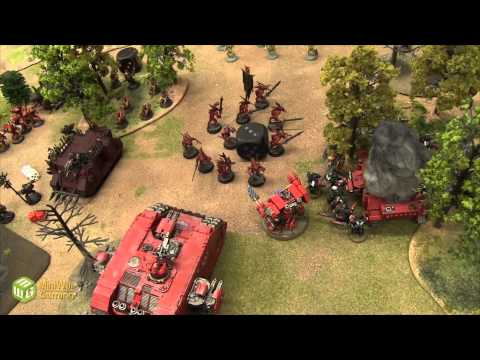 Blood - To watch the Necrons vs Blood Angels Battle Report, go here: http://www.miniwargaming.com/content/blood-angels-vs-necrons-warhammer-40k-banter-batrep-ep51 1750 Points of Chaos Space Marines,...