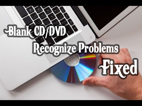 [Fixed] My DVD Drive Does not Recognize Blank Disc. | (How to) 100% Working Tested.