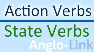 Action Verbs and State Verbs, Learn English Tenses Lesson 5