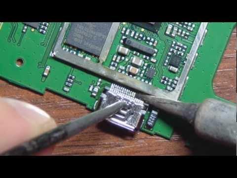 Ремонт планшета оторвано USB Repair torn off USB tablet - RepeatYT - Twoje utwory w petli!