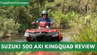 10. New Suzuki 500 AXi Kingquad test review | Farms & Farm Machinery