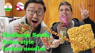 Chinese Try Nepalese Instant Noodles for the first time|नेपाली चाउचाउ मा चाइनिज हरुको प्रतिक्रिया|