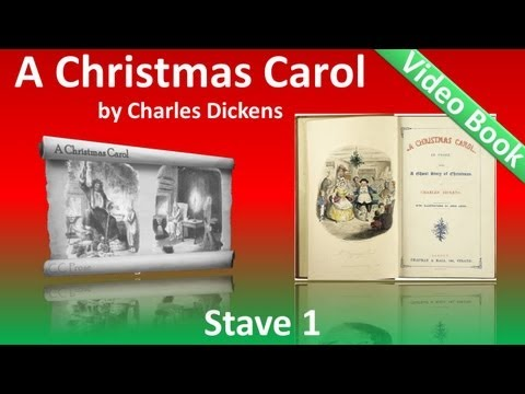 A Christmas Carol by Charles Dickens - Stave 1 - Marley's Ghost (видео)