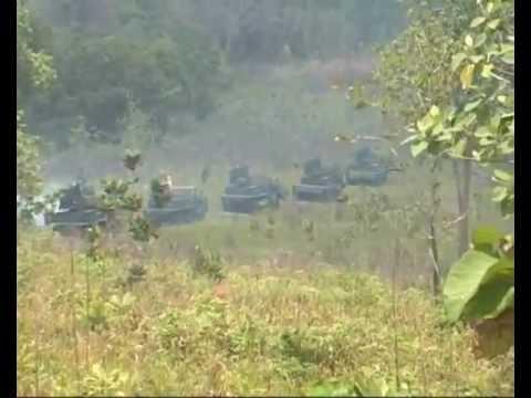 Latihan Antar Kecabangan TNI-AD 2012