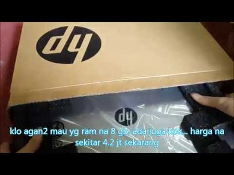 """Unboxing HP 14-AF118AU Laptop 14"""" Amd Quadcore A8-7410 (Indo)"""