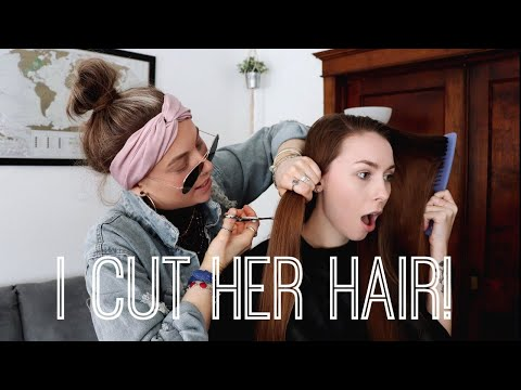 Hair cutting - I CUT MY ROOMMATES HAIR