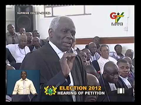 Tsatsu Tsikata Cross Examines Dr. Bawumia - Court Day 8 29-04-13 6