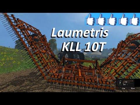 Laumetris trailed cultivator KLL-10T v1