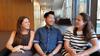 Carola, Fernando, and Alex Share Their Experiences in Orientation in U.S.A. Law