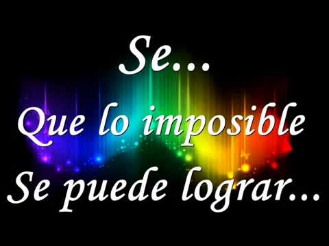 Diego Torres – Color esperanza – Spanish Songs with Lyrics