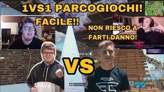 AYDAN IL CONTROLLER PLAYER DISTRUGGE TFUE!  1 VS 1 IN PARCOGIOCHI! BUILD BATTLE TRA PRO PLAYER!