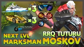 Video RRQ'Tuturu 'The Next Level Marksman' Playing Moskov Got Gift 3 Yacht & 3 Roadster ~ Mobile Legends MP3, 3GP, MP4, WEBM, AVI, FLV September 2018