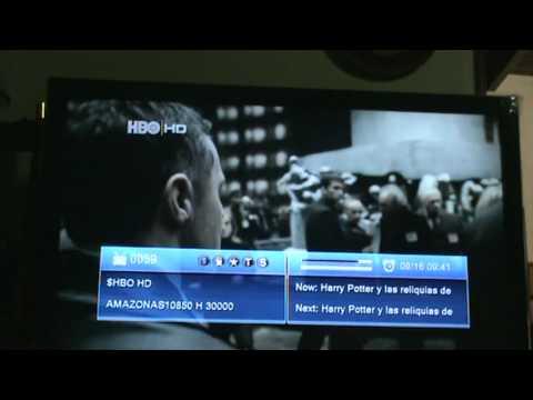 Capturando canales HD, con Azfox Z2s con SKS(Amazonas 61W y Hispasat 30W) desde Maracay Venezuela