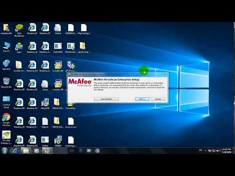 Mcafee scan enterprise windows 10