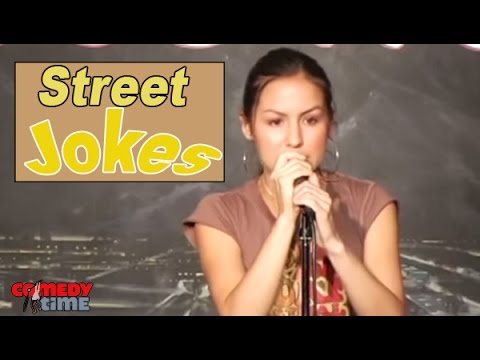 Anjelah Johnson - Street Joke - Comedy Time (Funny Videos)