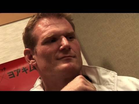 Josh Barnett PreFight Interview for Dream 13