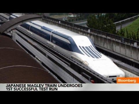 В Японии испытывают поезд с разгоном 500 км/ч  - Центр транспортных стратегий